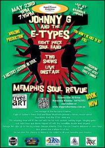 The South Coast Soul Tour May 23-24, 2015