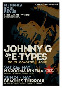 South Coast Tour Poster