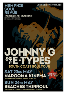 South Coast Tour Poster